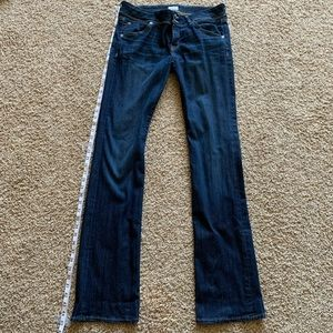 Gently Worn Hudson Beth Baby Boot Jeans Size 31